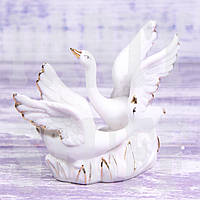Подарочная статуэтка Лебеди
