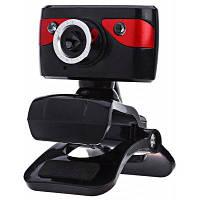 A886 USB 1.3 мегапиксельная веб-камера Чёрный