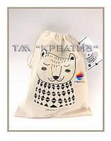 Мешочки подарочные брендированые (под заказ от 100-500 шт.)