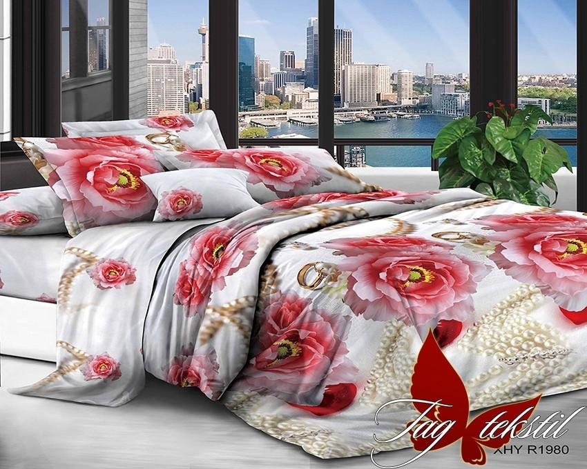 Комплект постельного белья XHY1980 двуспальный (TAG polycotton (2-sp)-424)