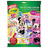 Мини Маус книга-раскраска в наборе фломастеры Color Wonder 5 шт, Crayola (Крайола)