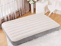 Надувной матрас Intex 64103 (152-203-25 см.) / Бежевый