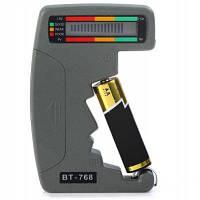 BT-768 LCD Цифровой индикатор емкости аккумулятора Глубокий серый