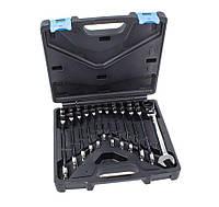 Набор ключей трещоточных c шарниром 12 предметов ASTA A-FRS12MF