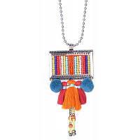 Красочная подвеска в этническом стиле для женщин Разноцветный