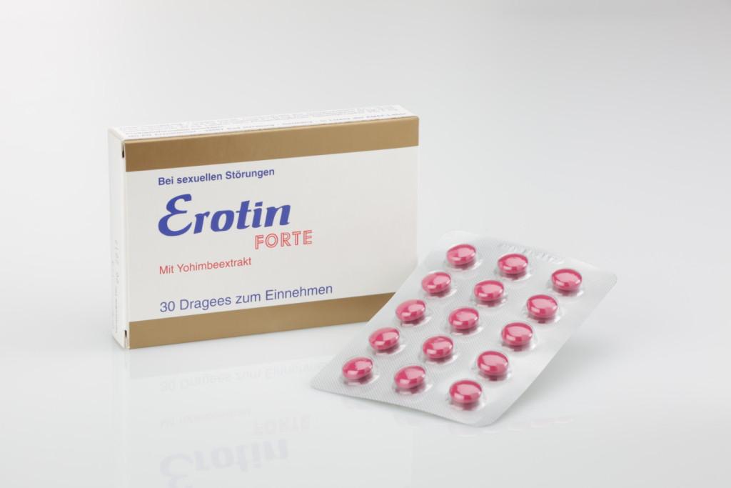 Таблетки EROTIN FORTE 30 шт (для двоих)