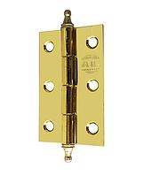 Петли универсальные AL 50мм. с декором золото