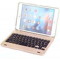 Ф1С Bluetooth Клавиатура комбо Защитная оболочка для iPad мини 4 Шампанский