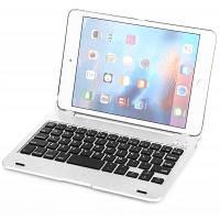 Ф1С Bluetooth Клавиатура комбо Защитная оболочка для iPad мини 4 Серебристый