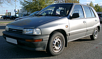 Дайхатсу Шарада / Daihatsu Charade G100 (Седан, Хетчбек) (1987-1994)