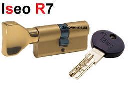 Цилиндр Iseo R7 70мм.(30х40) латунь с поворотником