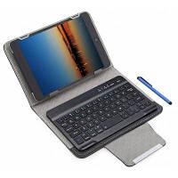 3 в 1 чехол с Bluetooth 3.0 Клавиатура защитный 7 / 8-дюймовый планшет Чёрный