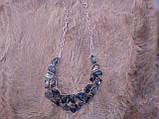 Оригинальное колье с натуральным лабрадором в серебре. Эксклюзив!, фото 6