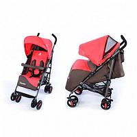 Детская коляска-трость Carrello Vento (CRL-1402 BROWN+crimson)