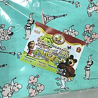 Детский комплект постельного белья в кроватку Пудельки (бирюза)