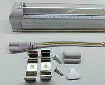 Светодиодный светильник для растений 600 мм ( 4 красных 2 синих ФИТО свет ), фото 3