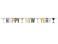 Банер-гірлянда «Happy New Year» 165м