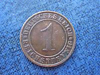 Монета 1 пфенниг Германия 1931 D