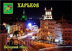 Магниты на холодильник. Город Харьков 38