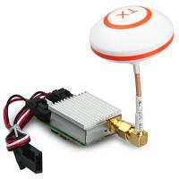 Дополнительная 5.8 ГГц приемник комплект с гриб антенна для летающих 3Д х8 7-дюймовый fpv передатчик Белый