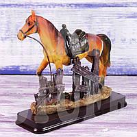 Статуэтка Конь рыжий, 15 см