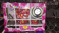 Набор детской посуды, 10 предметов