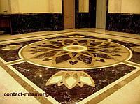 Мраморные мозаичные полы