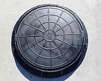 Корпус и крышка люка для смотровых колодцев (люки резинокордовые)