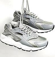 Женские кроссовки Huarache Grey/White