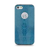 Чехол накладка для iPhone 5 Perfektum Crocodil Кожа, фото 6