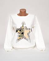 Женский свитшот с принтом Звезда p.46-48 SS34-1