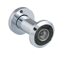 Глазок дверной Fuaro DVZ1 16/200/35x60 CP хром