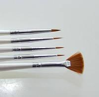 Набор кистей для рисования YRE - 5 шт/уп