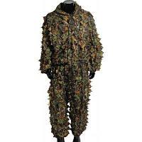 3Д листовые камуфляж Бионический костюм комплект 34513