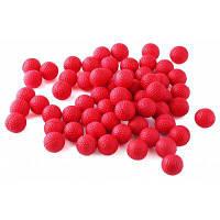 100шт пены PU совместимые пулей шар Красный
