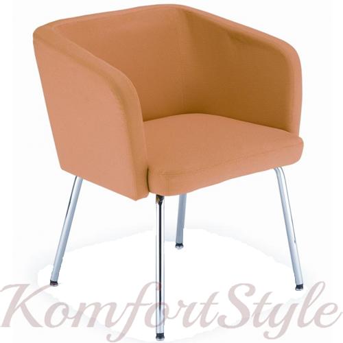 Кресло Hello 4L / Хелло 4L chrome  мягкая мебель для бара
