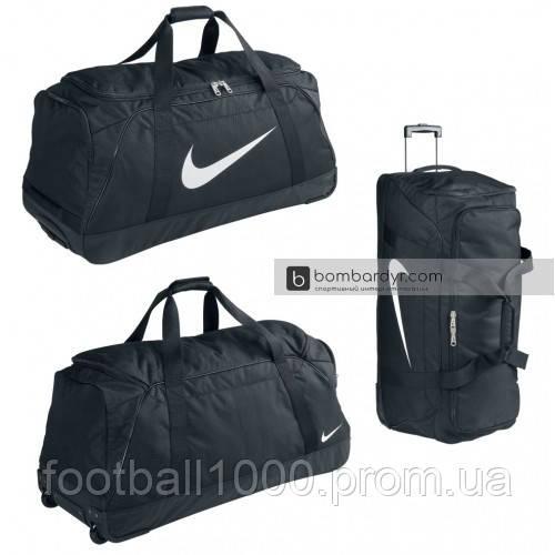 039064dc5617 ... фото Сумка дорожная на колесах Nike Club Team Swoosh roller bag 3.0  BA5199-010, фото