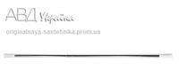 Карниз алюминиевый (хром) 70-120 см AWD 2100230