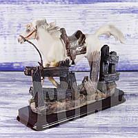 Статуэтка Конь белый, 15 см