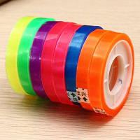 CH 08 Пластиковая цветная клейкая лента 8 шт Цветной