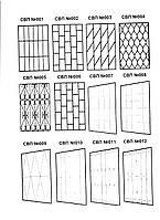 Металлические решетки в ассортименте, фото 1