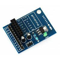 14-контактный NRF905 беспроводной модуль с чипом AMS1117 3.3V Синий