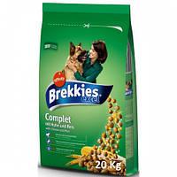 Брекис 20кг корм для собак с курицей Complit