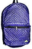 Стеганный фиолетовый рюкзак из плащевки 26*42 см, фото 2