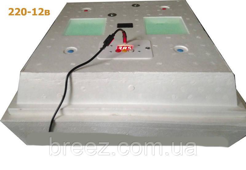 Инкубатор Наседка ИБ-120/72, 12 вольт автоматический переворот, цифровой терморегулятор