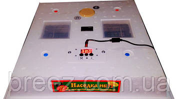 Инкубатор Наседка ИБ-120/72, 12 вольт автоматический переворот, цифровой терморегулятор, фото 2