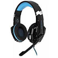 KOTION каждый G9000 3.5 мм USB игровой гарнитуры за ухо Headpones для ps4 Чёрный и синий
