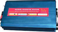 Инвертор напряжения 24-220 Вольт 2000Вт NV-P-T чистая синусоида