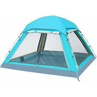 FLYTOP 4-местная палатка для кемпинга Лазурный