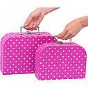 Игровой чемодан goki Фиолетовый в горошек 60106G, фото 4